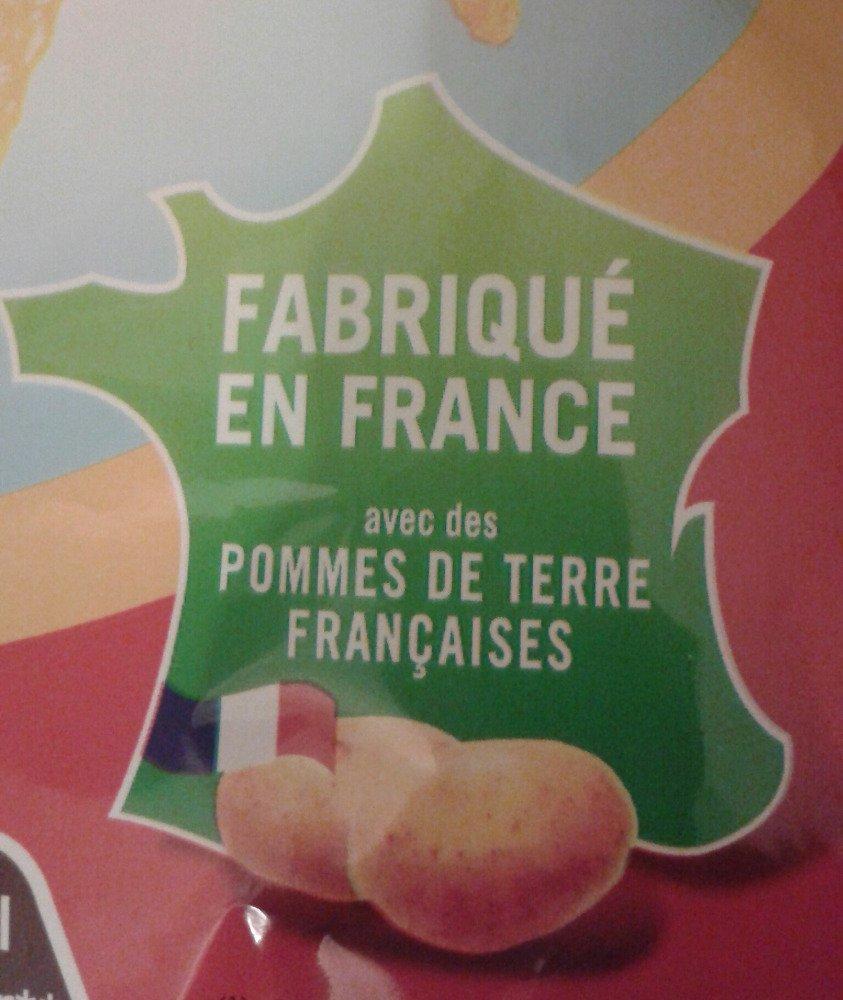 Fabriqué en France avec des Pommes de terre françaises